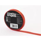 Creative Angel díszkötöző szatén szalag- piros