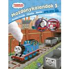 Locomotiva Thomas: Aventurile locomotivelor 5. - carte pentru copii în lb. maghiară