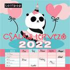 Calendar de perete: Lollipop Planificator pentru familie - 30x30 cm, în lb. maghiară