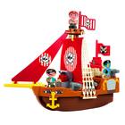 Abrick: Kalózhajó építőjáték szett