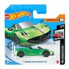 Hot Wheels: Mașinuță 17 Pagani Huayra Roadster - verde