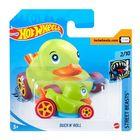 Hot Wheels: Duck N Roll kisautó - zöld