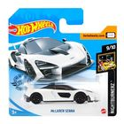 Hot Wheels: Mașinuță McLaren Senna - alb