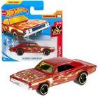 Hot Wheels: Mașinuță 69 Dodge Charger 500 - roșu închis