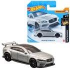 Hot Wheels: Mașinuță Jaguar XE SV Project 8 - gri argintiu