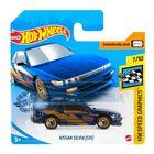 Hot Wheels: Nissan Silvia (S13) kisautó - kék