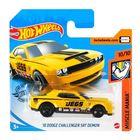 Hot Wheels: Mașinuță 18 Dodge Challenger SRT Demon - galben