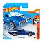 Hot Wheels: Mașinuță Custom Otto - albastru