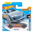 Hot Wheels: Mașinuță Grand Cross - gri deschis