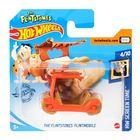 Hot Wheels: Mașinuță The Flintstones Flintmobile - portocaliu
