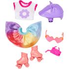 Barbie: Chelsea ruhaszettek - Görkorcsolya szett