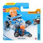 Hot Wheels: Mașinuță Skull Shaker - albastru închis-portocaliu