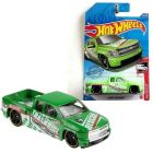 Hot Wheels: Mașinuță Chevy Silverado - verde deschis