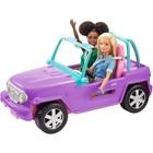 Barbie: Mașinuța Beach Jeep