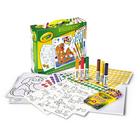 Crayola: Mókás matricázó szett