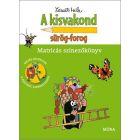 Cârtița și viața de zi cu zi - carte de colorat cu abțibilduri, în lb. maghiară