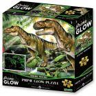 Dinozauri - puzzle neon de 100 piese