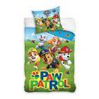 Paw Patrol: Lenjerie de pat cu 2 piese - 140 x 200, 70 x 90