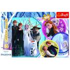 Trefl: Frozen 2- puzzle cu glitter, de 100 de piese