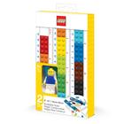 LEGO: Építhető vonalzó figurával