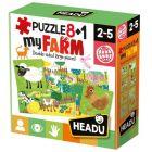 Headu: Puzzle 8+1 - Az én farmom