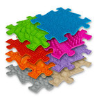 Muffik: Set de bază Covor ortopedic senzorial - 8 buc, colorat