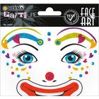 Herma: Stickere pentru față - Clovnul Lotta