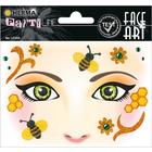 Herma: Stickere pentru față - Honey Bee