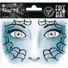 Herma: Stickere pentru față - Păianjen