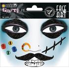 Herma: Stickere pentru față - Pirat