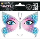 Herma: Stickere pentru față - Fluture