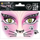 Herma: Stickere pentru față - Pisică