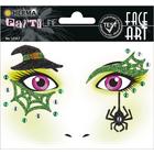 Herma: Stickere pentru față - Vrăjitoare