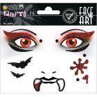 Herma: Stickere pentru față - Vampir
