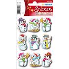 Herma: Stickere de crăciun - Oameni de zăpadă