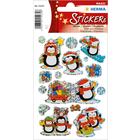 Herma: Stickere de crăciun - Pinguini