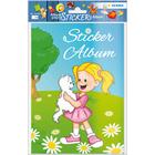 Herma: kislány cicával matricás album