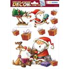 Herma: Stickere pentru fereastră - Moș Crăciun și Rudolf
