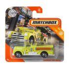 Matchbox: Seagrave Fire Engine kisautó - citromsárga