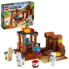 LEGO® Minecraft: A kereskedelmi állomás 21167