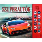 Super mașini cu sunet - carte pentru copii în lb. maghiară