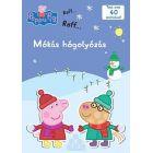 Peppa Pig - Bătaie amuzantă cu bulgări de zăpadă, educativ în lb. maghiară