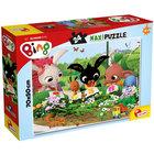 Bing: Grădinăritul - puzzle maxi cu 27 piese, 70 x 50 cm