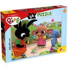 Bing: A béka puzzle 24 db-os - 50 x 35 cm