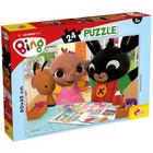 Bing: Să ne distram împreună! - puzzle maxi cu 24 piese, 50 x 35 cm