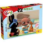 Bing: Piknik puzzle 24 db-os - 50 x 35 cm
