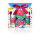 Burtleys Christmas: kis karácsonyi fürdőszett ajándékcsomag - vanília