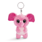 Nici: Fluppy elefánt plüss kulcstartó - 9 cm