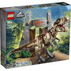 LEGO Jurassic Park: T-Rex tombolás 75936 - CSOMAGOLÁSSÉRÜLT