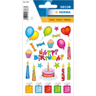 Herma: Stickere cu model zi de naștere
